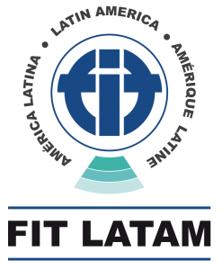 New FIT LatAm's logo, redesigned by Betzabeth Ford, a Venezuelan graphic designer.